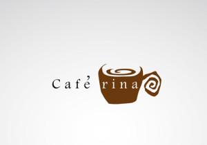 cafe rina〜ロゴマークを無料提案!ロゴ化するならロゴカ